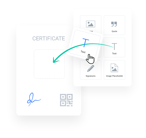 myCert - Brand your certificates
