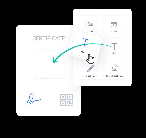 myCert - Brand your certificates