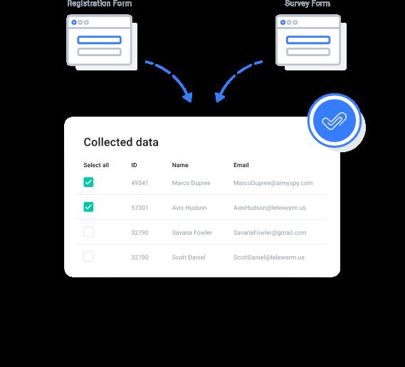myCert - Create custom web forms