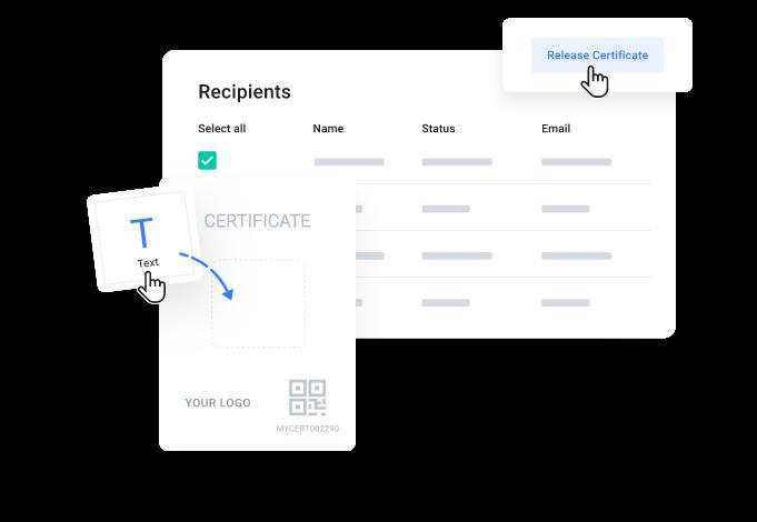 myCert - Issue digital certificates in seconds