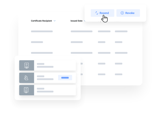 myCert - Manage all your certificate data in one secure place