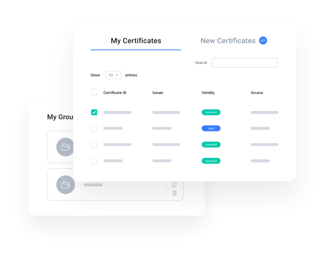 myCert - Manage and track your certificates with ease